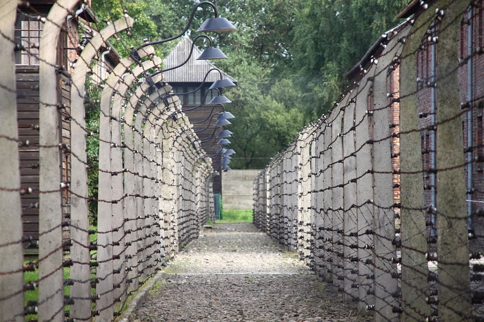 Auschwitz Walls of Concentration Camps